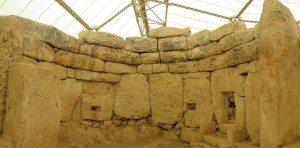 Protected Megalithic site on Island of Malta