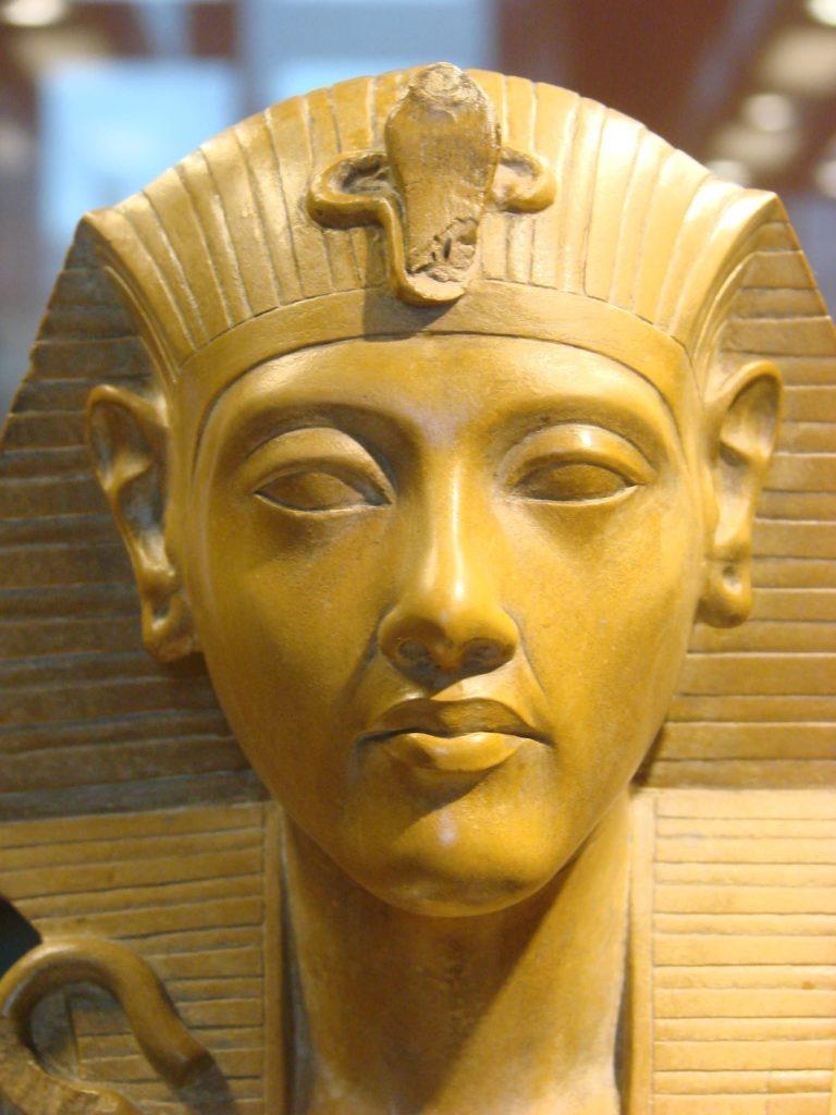 "Akhenaten—""The Shadow of the Wiser."""