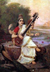 Saraswati a Hindu Goddess