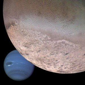 NASA montage shows Neptune a similar size to newly discovered Planet X