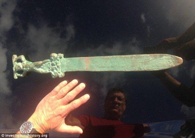 Oak Island Sword