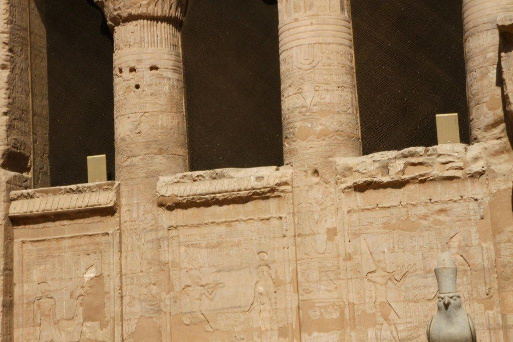 Temple of Edfu, Original Photography by Anyextee