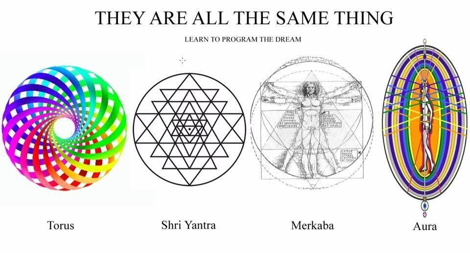 Torus Sri Yantra Merkaba