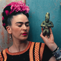 Frida and Olmecs