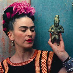 Frida and Olmecs