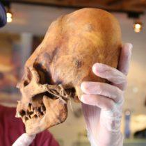 Brien Foerster Examines Elongated Paracas Skull