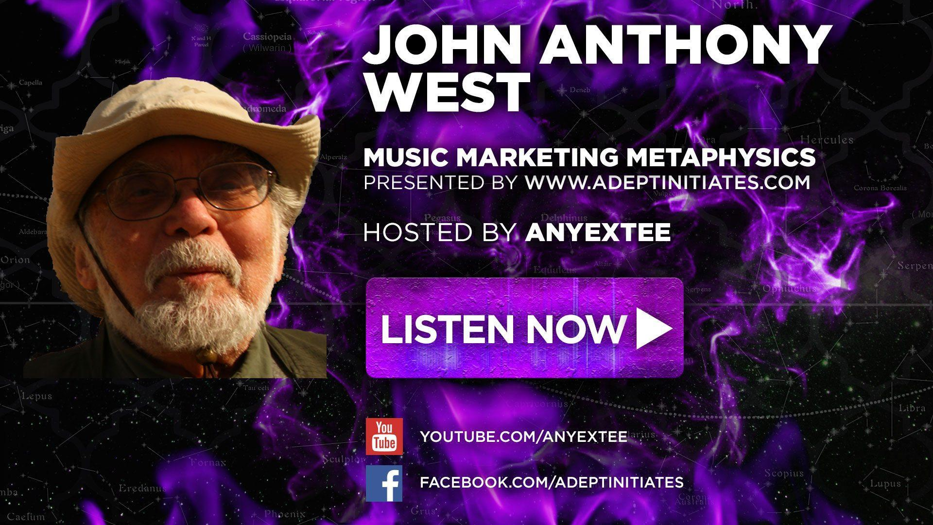 John Anthony West Dead Saints Chronicles