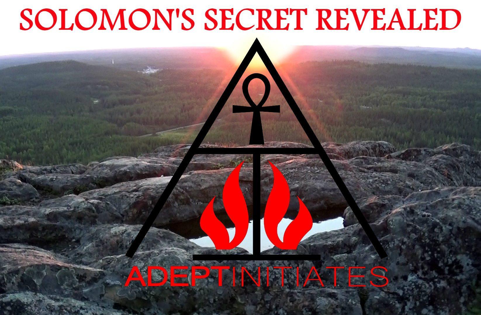 Solomon's Secret Revealed