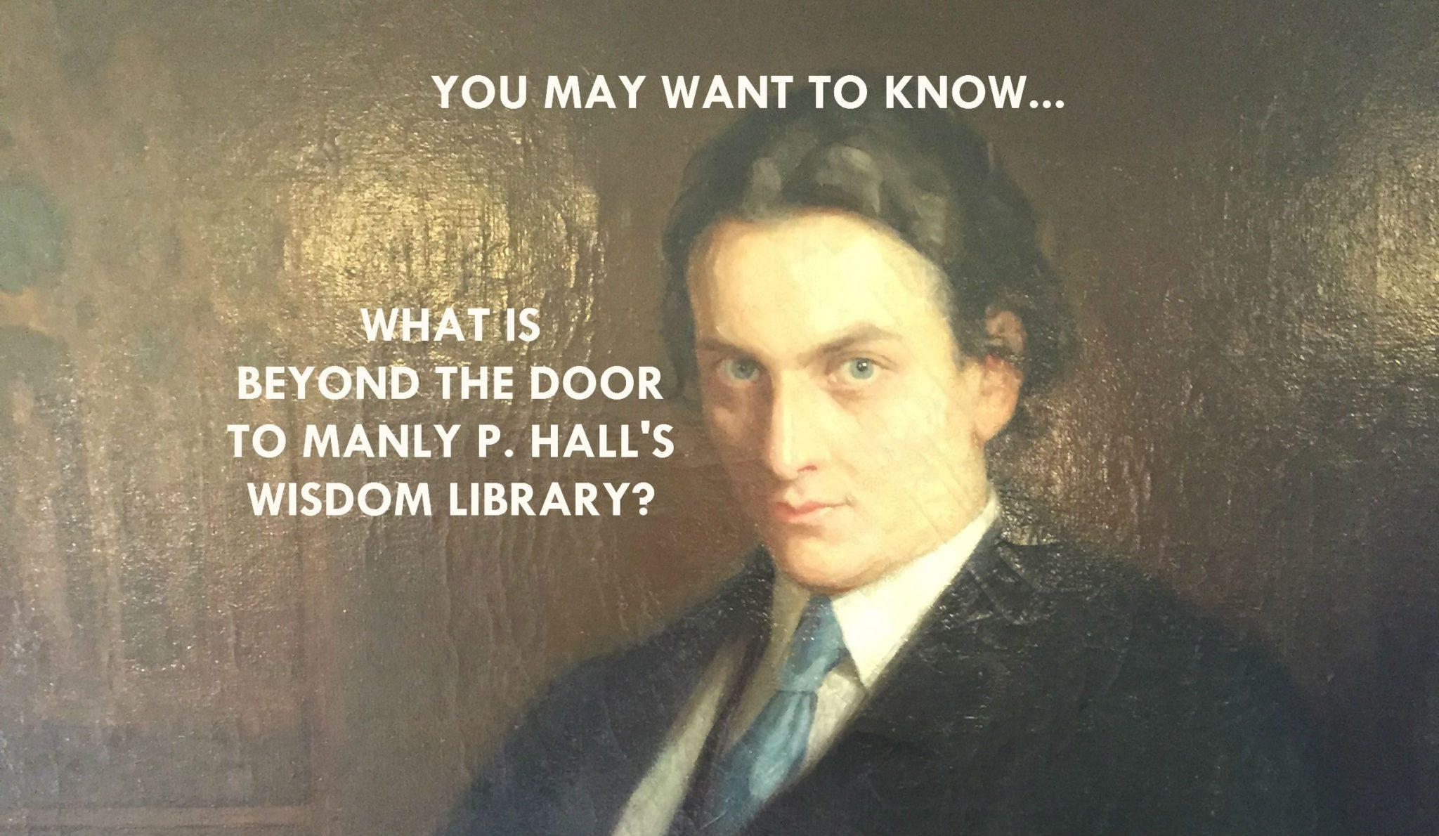 MANLY P HALL WISDOM LIBRARY
