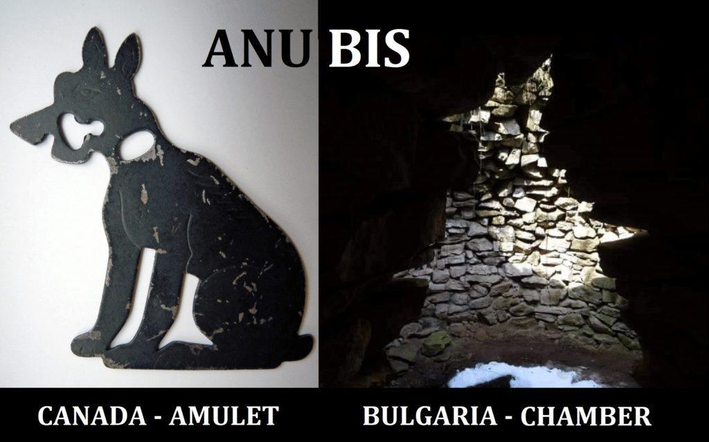Canadian Anubis Amulet