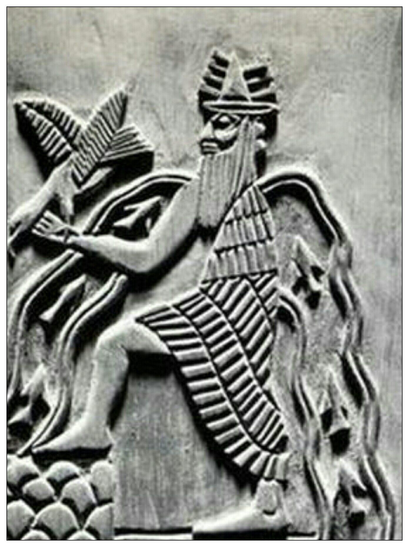 Master Of Primordial-Cosmic Waters, Poseidon/Anunnaki