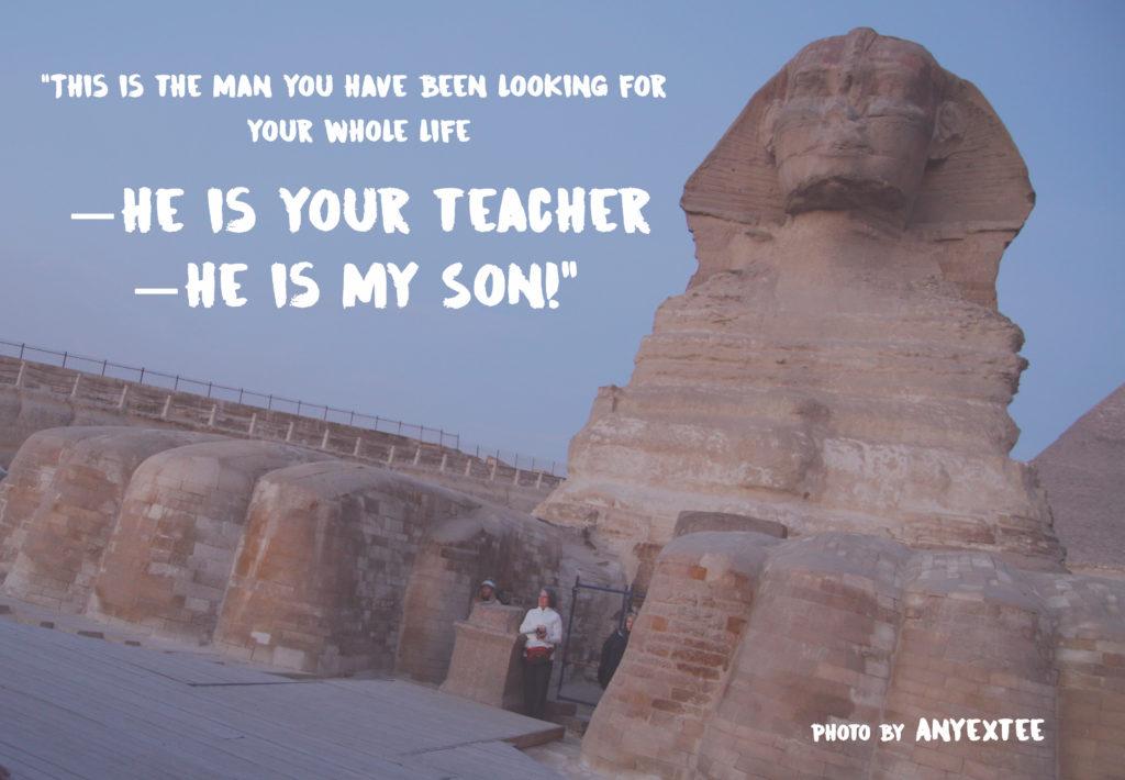 Sphinx Egypt photo by Anyextee