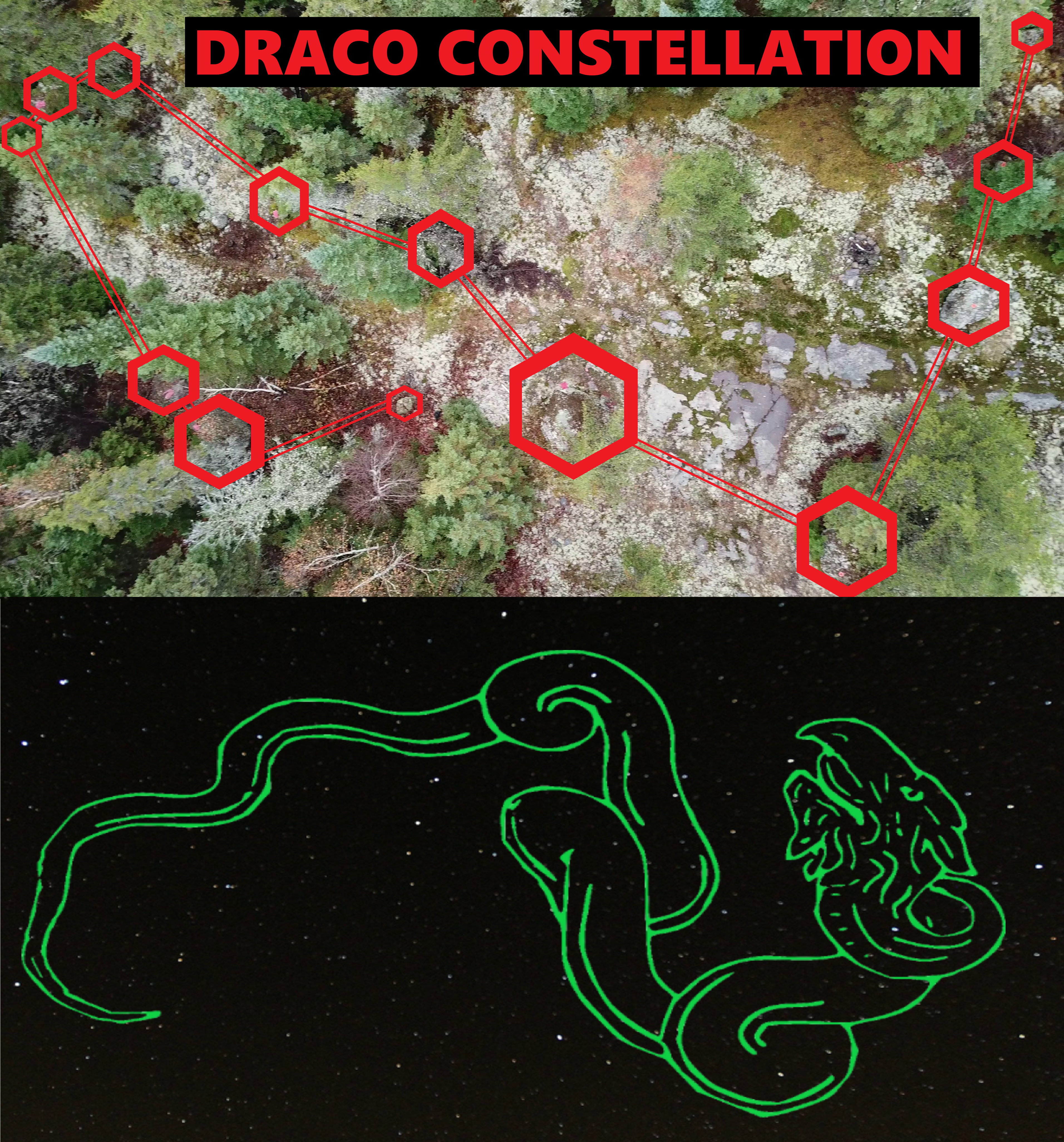 Mystery of the North American Draco Stonehenge - Adept Initiates